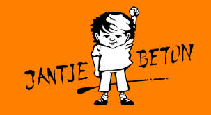 Jantje Beton, Logo