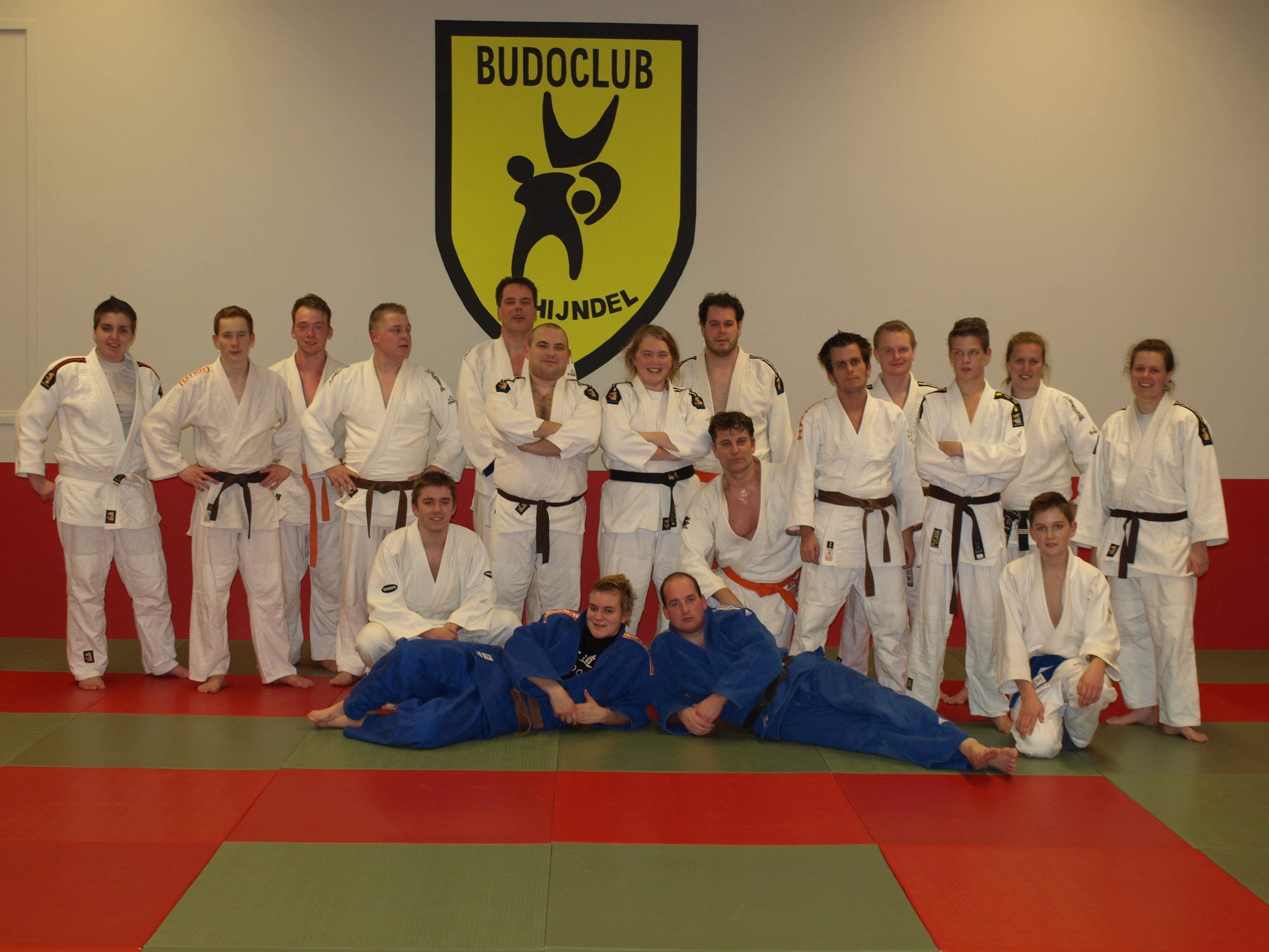 Groepsfoto, Dojo, Trainingen
