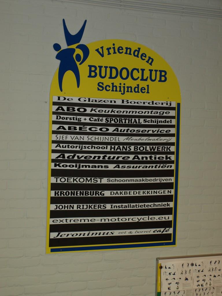 Vrienden van Budoclub Schijndel, Sponsors