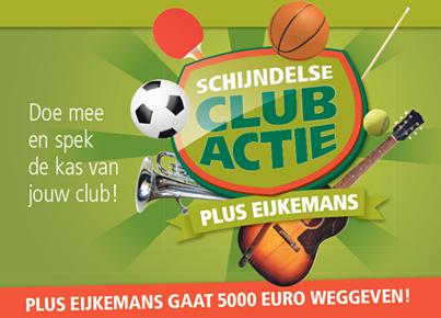 Sponsoractie Plus Eijemans Schijndel