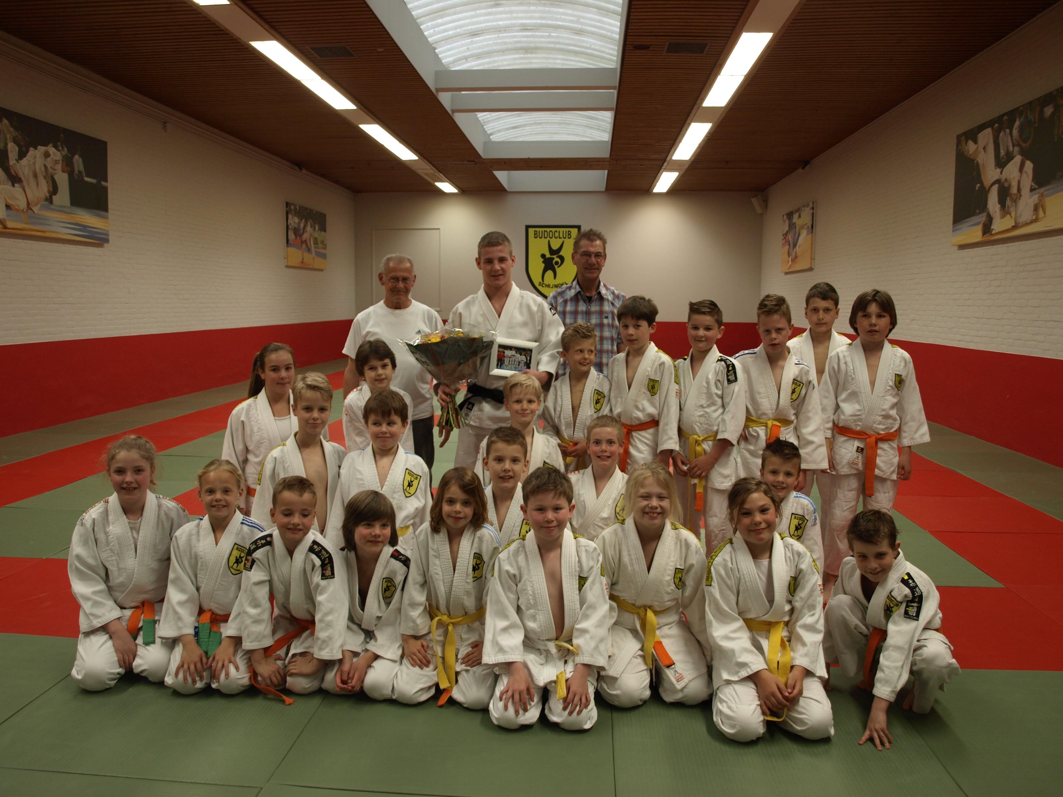 Huldiging Jasper vd Oetelaar Nederlands kampioen