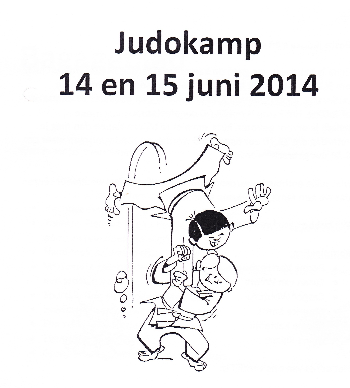 Judokamp 14 en 15 juni
