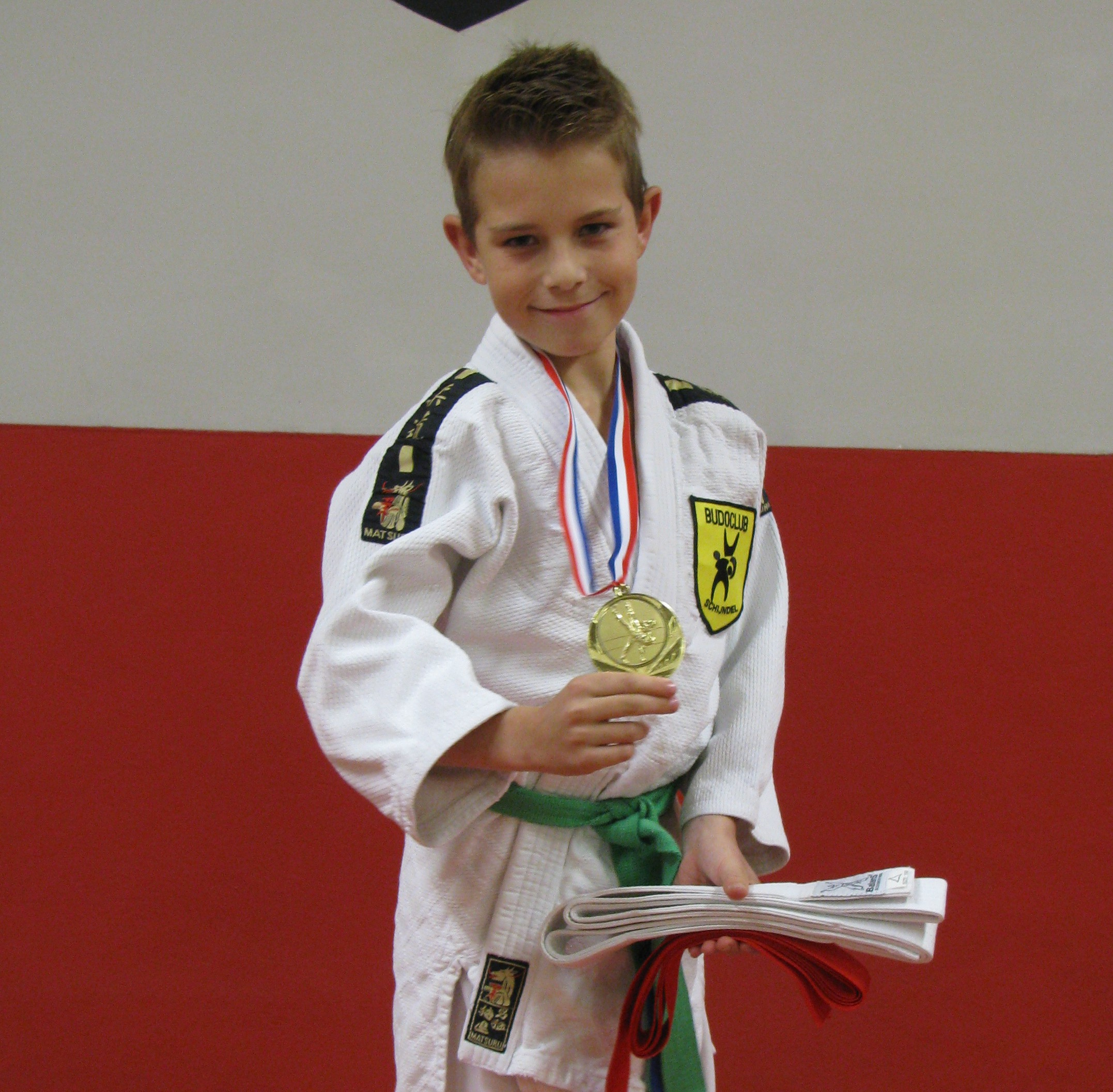 Tenzin van Osch Zuid-Nederlands kampioen
