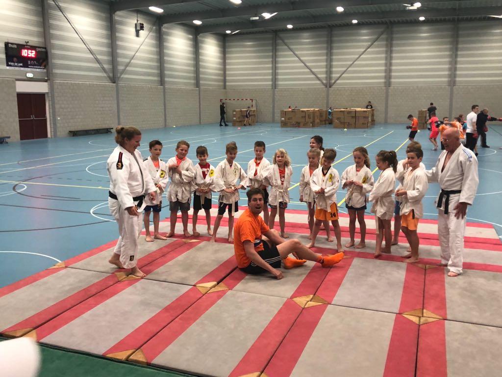 Judo tijdens Koningspelen EBC De Regenboog