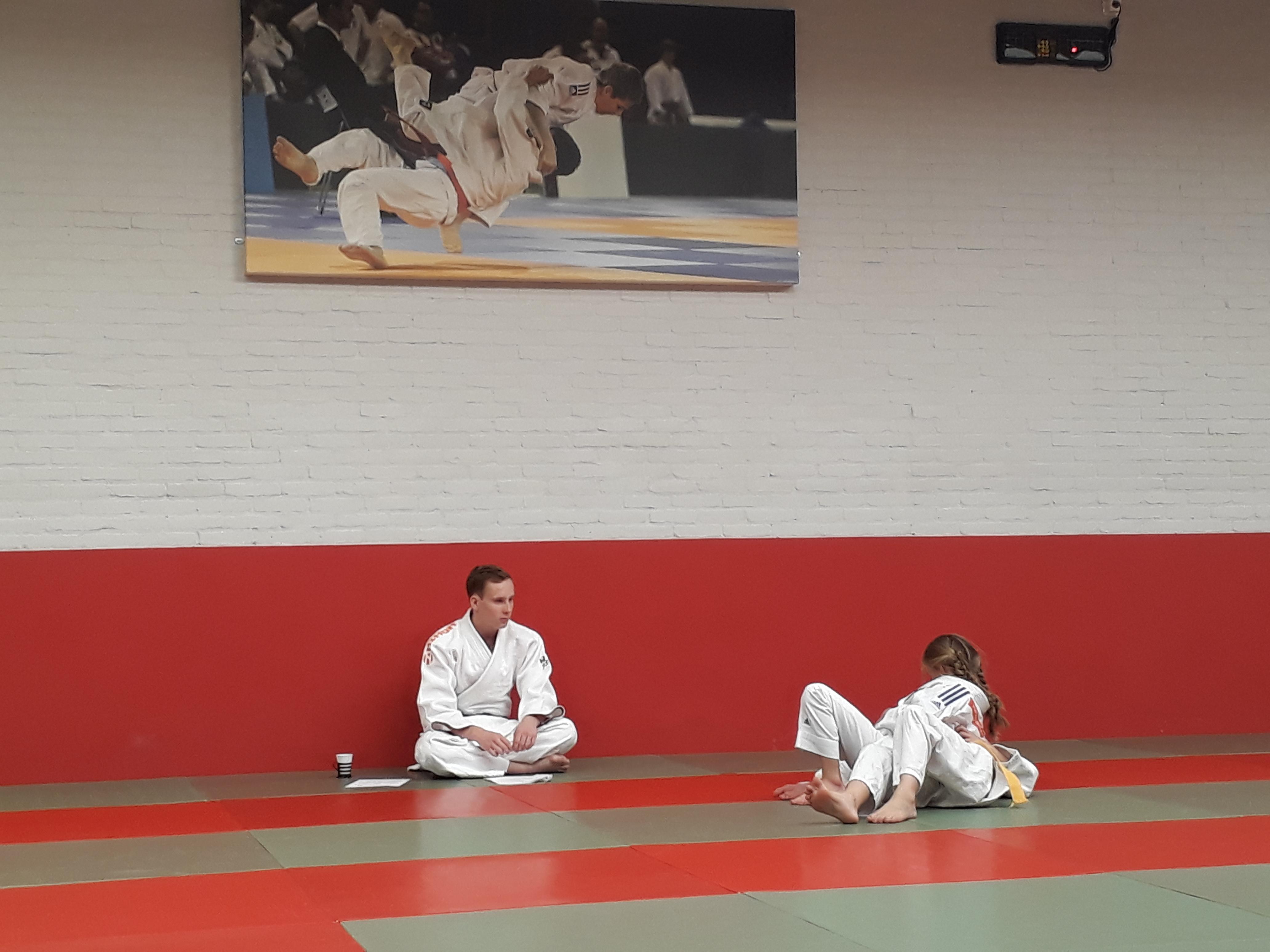 Judoka's groep 4 mooie examens
