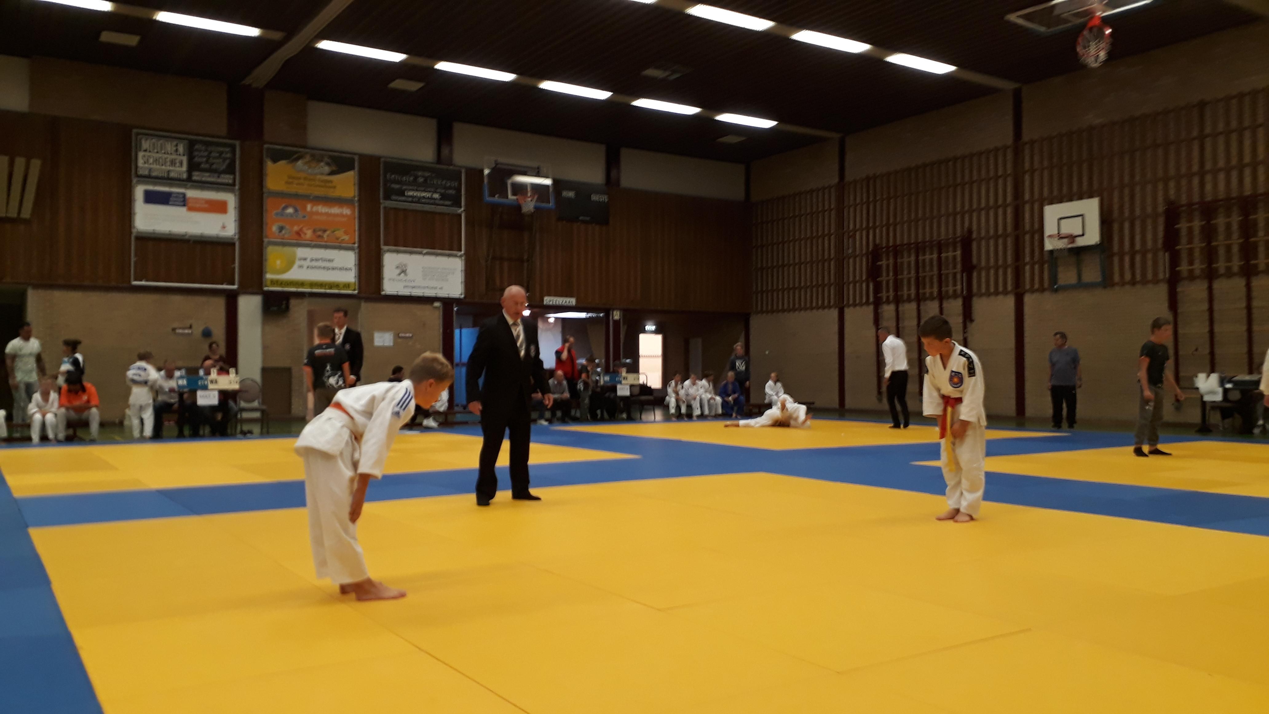Goed begin Schijndelse judoka's in Rosmalen