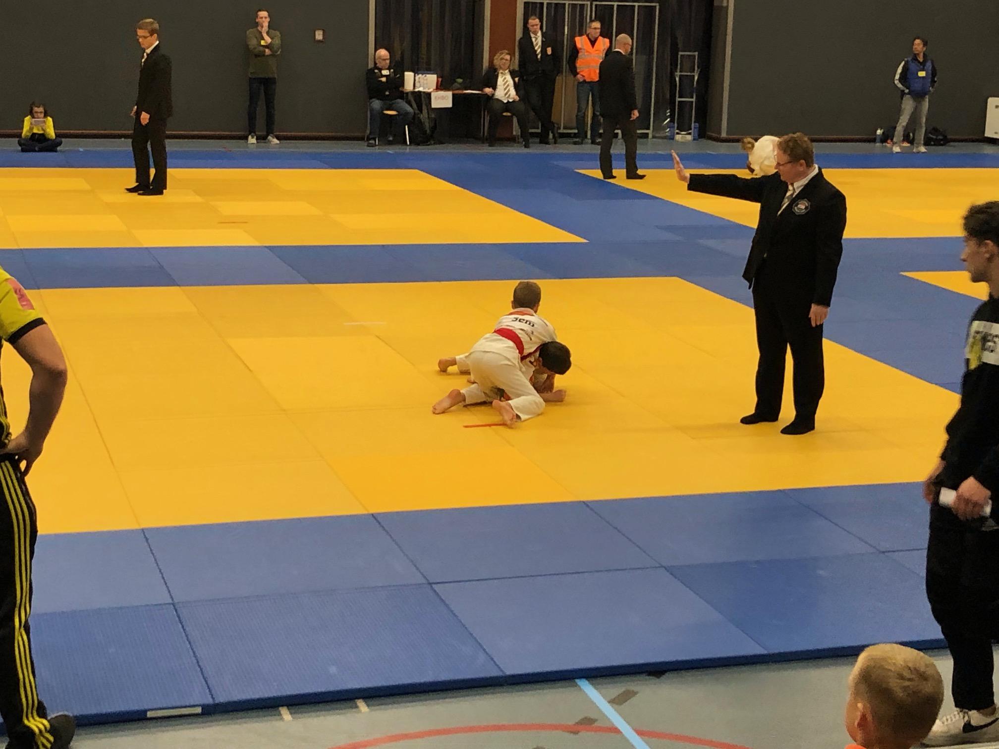 Mooi judo in Beek en Donk