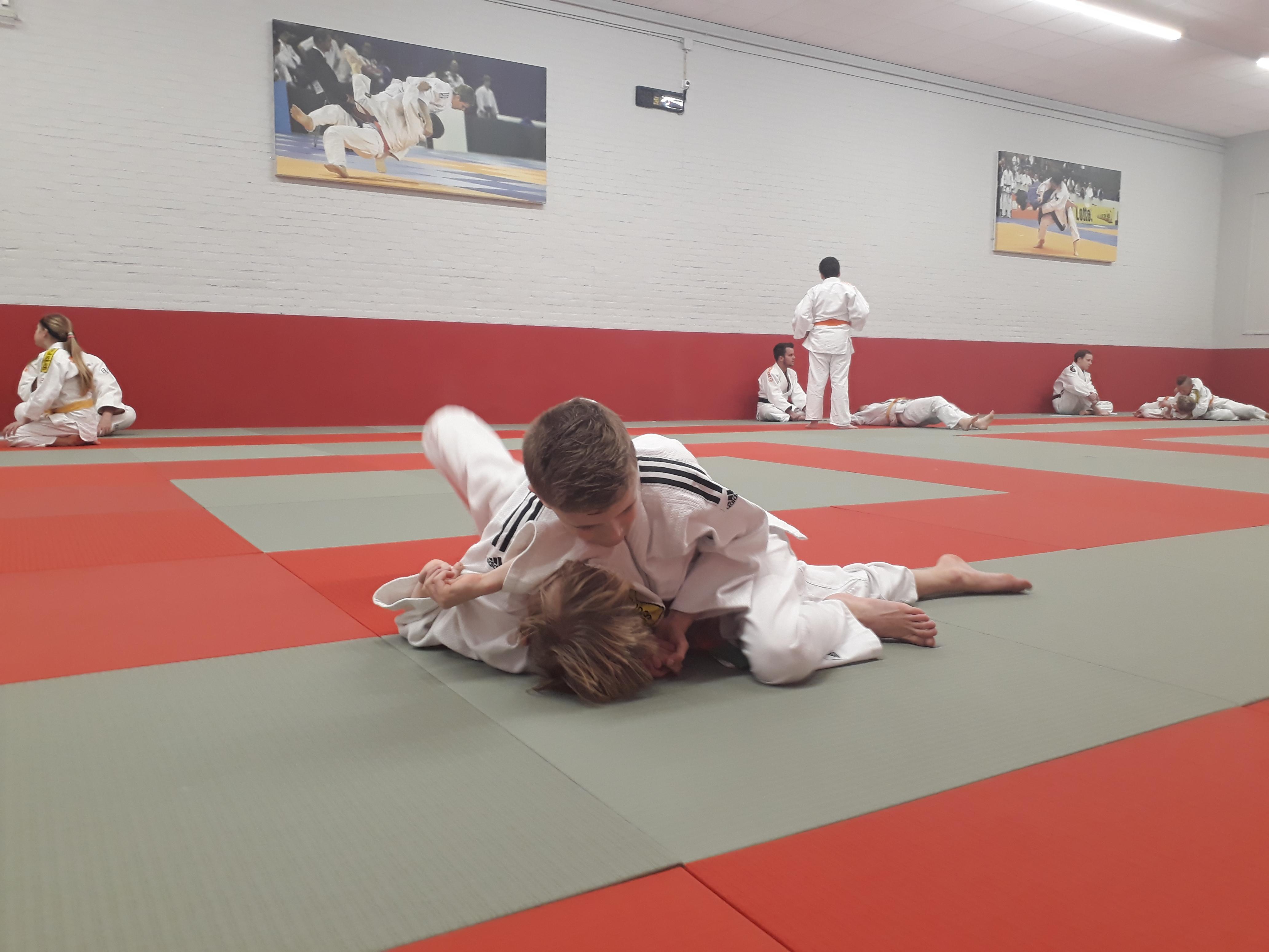Mooie examens judogroep 4