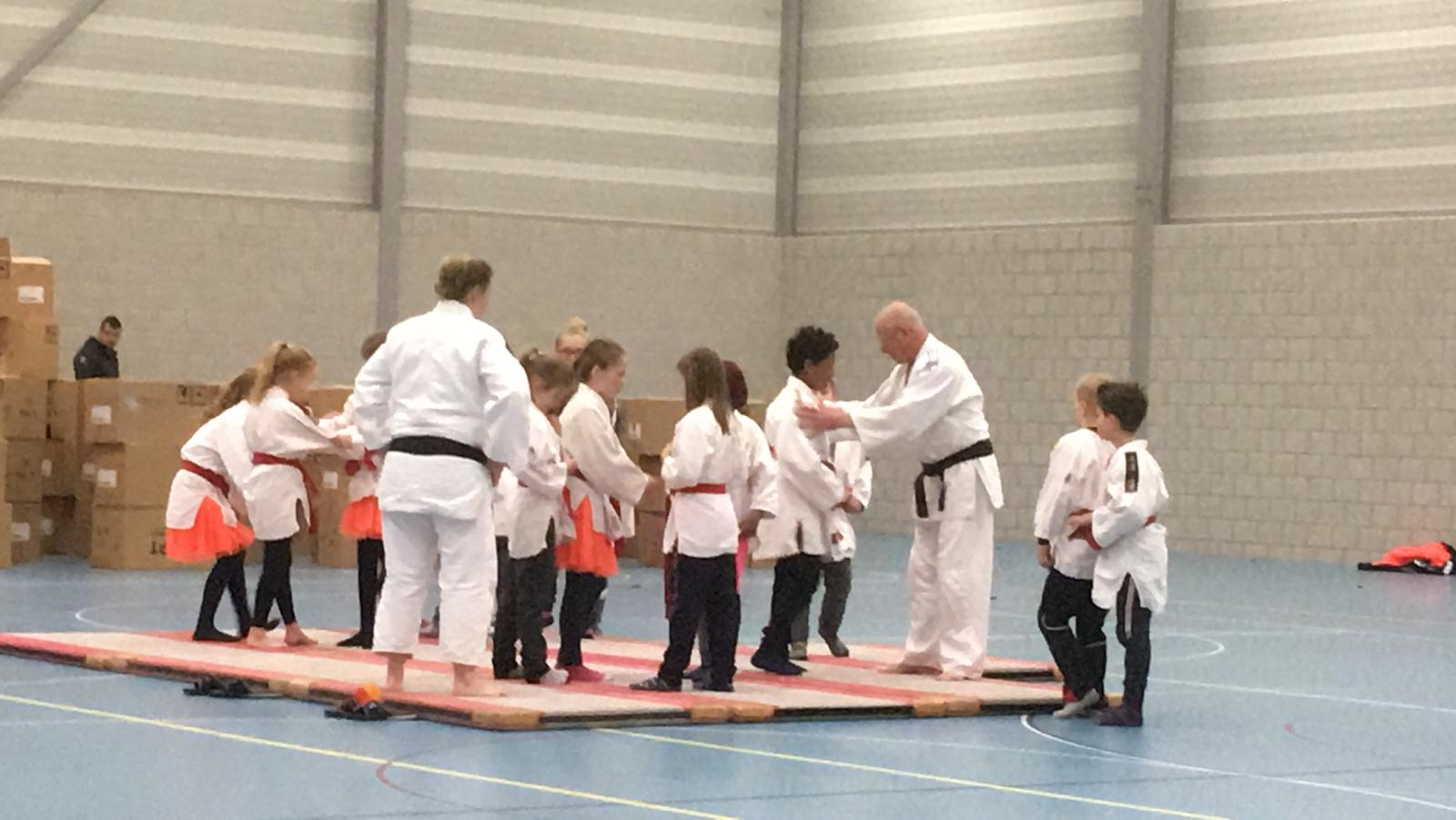 Judoclinics Koningspelen EBC De Regenboog