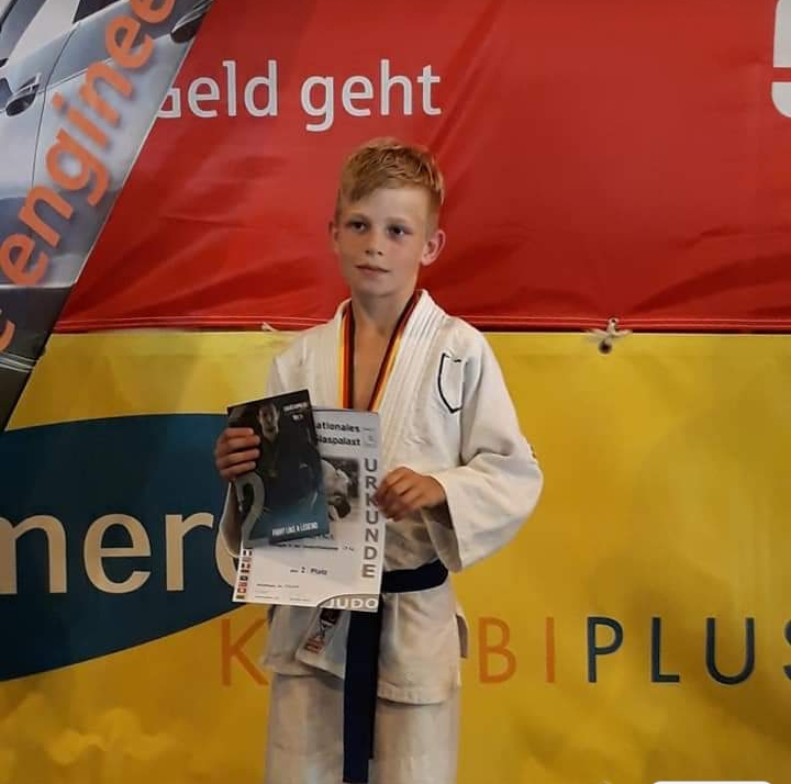 Aaron van Osch 2e prijs in Sindelfingen Duitsland