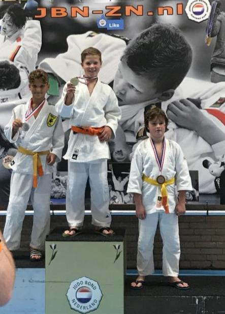 Zilver voor Siem van Esdonk op Zuid Nederlandse Kampioenschappen