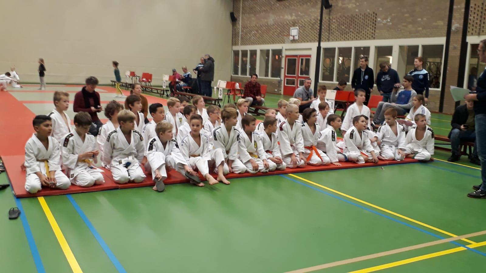 Druk judoweekend