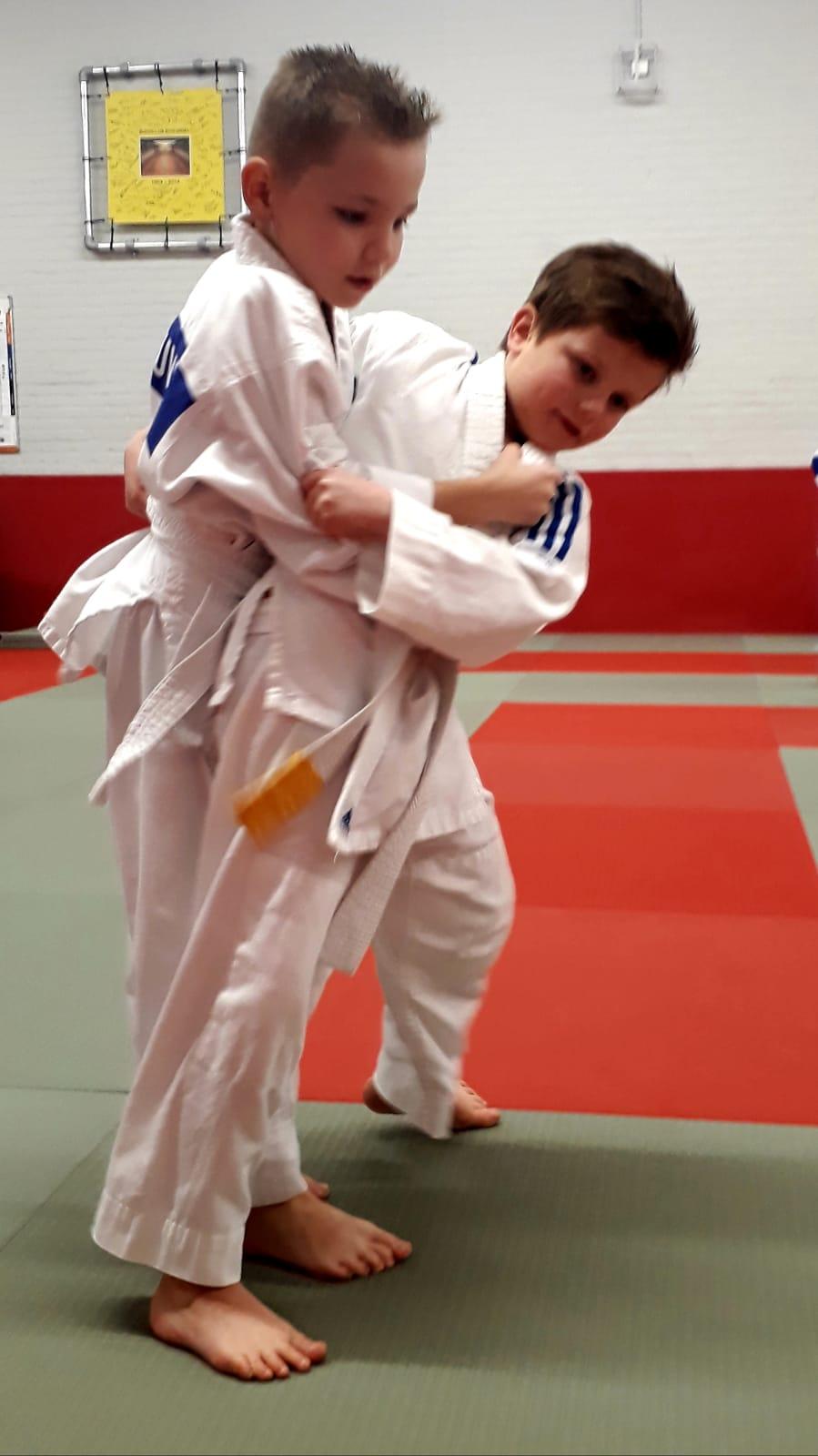 Judo examens groep 1 en 2